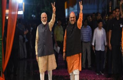 How Modi magic helped BJP to achieve highest ever national vote share