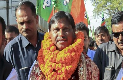 BJP-AJSU alliance wins 11 out of 14 seats in Jharkhand
