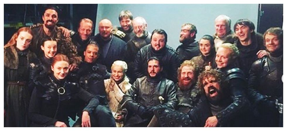 Game of Thrones finale (Photo: Instagram)