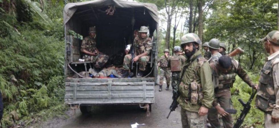 jawans of Assam Rifles (Photo Credit: ANI)