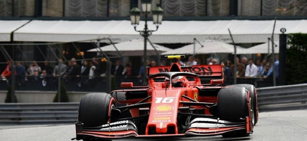 Cautious Leclerc testing home course limits at Monaco (Image Credit: Twitter)
