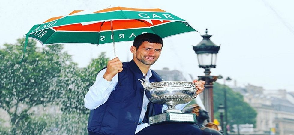 Novak Djokovic could become only the second man to win all four Grand Slams more than once in tennis history. (Image credit: Twitter)