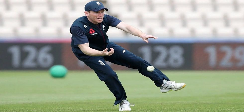 Eoin Morgan set to miss the warm-up clash against Australia (Image Credit: Twitter)