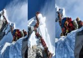 'Traffic jam' on Mt Everest kills 8 Indians, warning issued to mountaineers