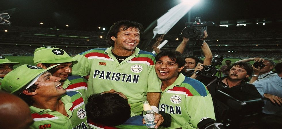Pakistan bounced back from a precarious position to win the ICC Cricket World Cup in 1992 under the leadership of Imran Khan. (Image credit: Twitter)