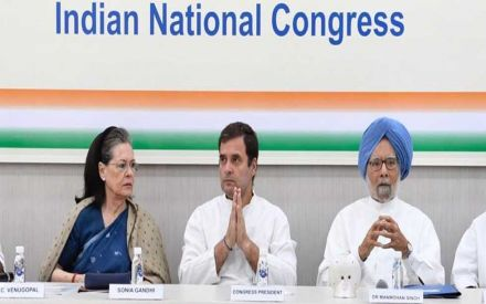 Rahul Gandhi offers to quit as Congress chief at CWC meeting, Surjewala says reports 'incorrect'
