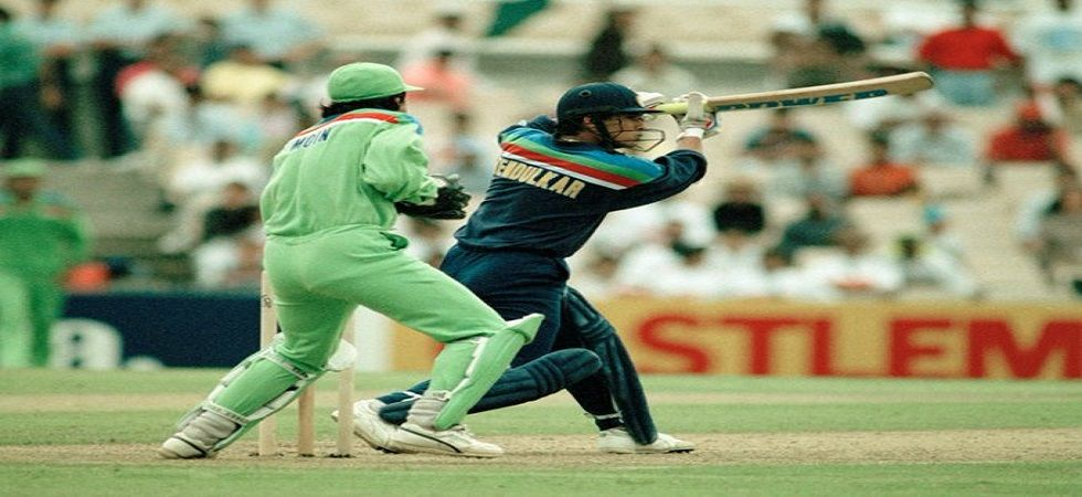 Sachin Tendulkar's 54 against Pakistan won him the Man of the Match award in the 1992 ICC Cricket World Cup match in Sydney. (Image credit: Twitter)
