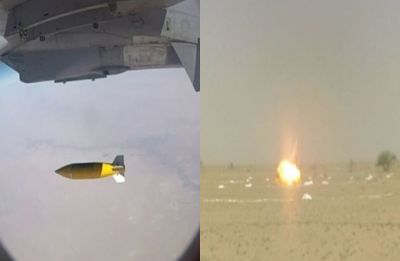 After supersonic BrahMos, DRDO successfully test fires guided bomb from Sukhoi jet in Rajasthan