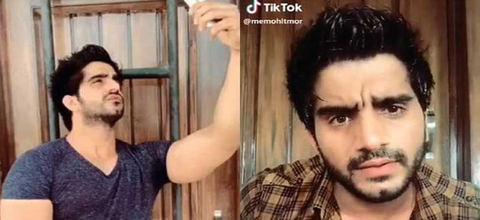 Tik Tok star Mohit Mor (Screen grab)