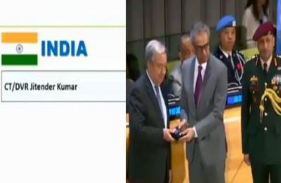 Antonio Guterres honours Indian police officer posthumously for contribution to UN peacekeeping