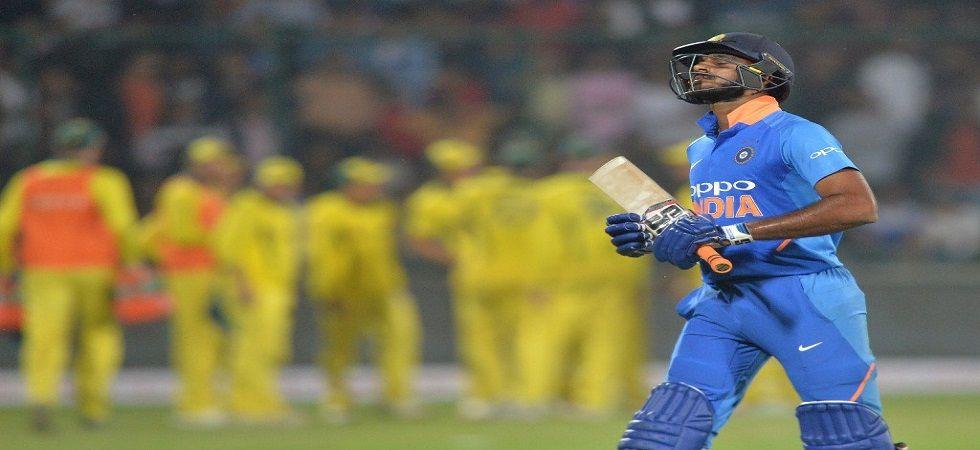 Vijay Shankar gets injured ahead of warm up clash against New Zealand (Image Credit: Twitter)