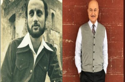 Anupam Kher celebrates 35 years in film industry with throwback pic