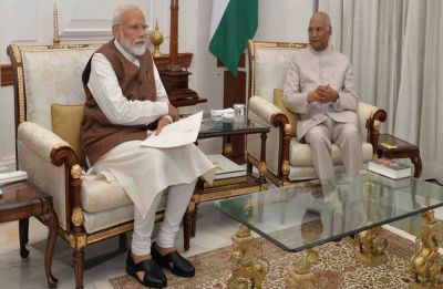 President Kovind invites Narendra Modi to form next government of India