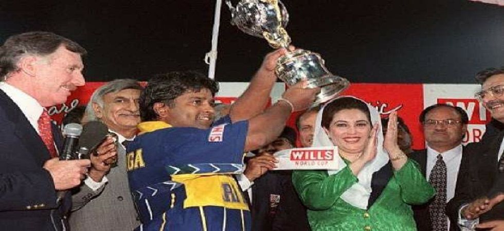 Arjuna Ranatunga led Sri Lanka brilliantly as they defeated Australia in the 1996 World Cup final to win the tournament for the first time. (Image credit: Twitter)