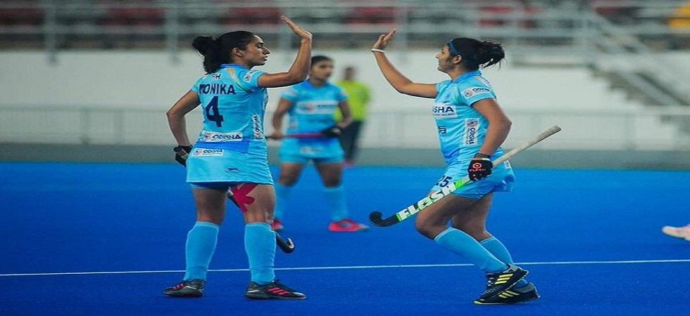India women's hockey team won two matches but lost one in the recent series against South Korea. (Image credit: Twitter)