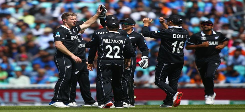 New Zealand were boosted by a spell from Trent Boult as he took 4/33 to inflict a six-wicket loss over Virat Kohli's Indian cricket team in the ICC Cricket World Cup 2019 warm-up clash at The Oval. (Image credit: Cricket World Cup Twitter)