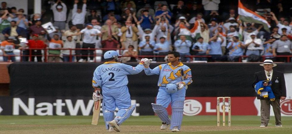 Rahul Dravid and Sourav Ganguly's 300-run stand was the first in ODIs and it gave India a win against Sri Lanka in the 1999 World Cup. (Image credit: ICC Twitter)