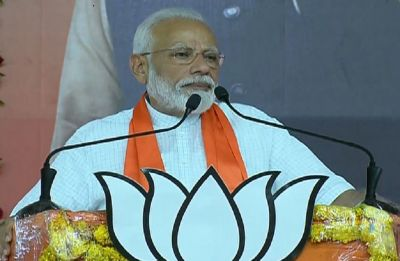 LIVE: At Ahmedabad rally, PM Modi expresses solidarity with bereaved family of Surat fire victims