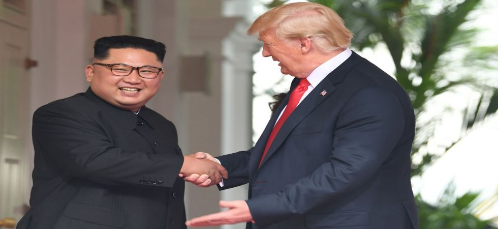 """US President Donald Trump took to Twitter on Sunday to express his """"confidence"""" in North Korean leader Kim Jong Un despite Pyongyang's recent weapons tests and deadlocked nuclear talks. (File photo)"""