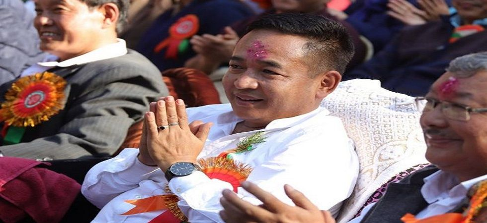 Sikkim Chief Minister PS Golay
