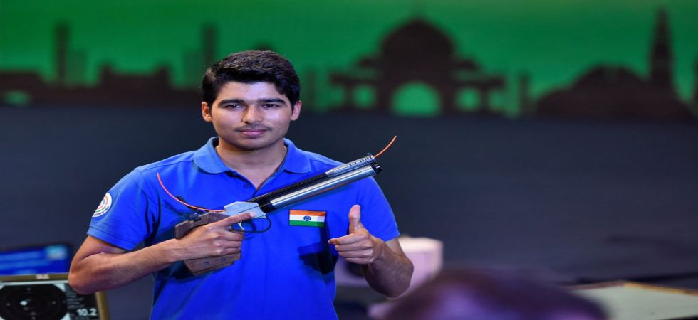 Saurabh Chaudhary wins gold in men's 10m air pistol event at ISSF World Cup in Munich