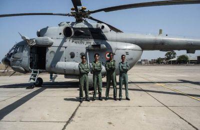 Parul Bhardwaj creates history as IAF's first 'all women crew' takes to skies in Mi-17 V5 chopper