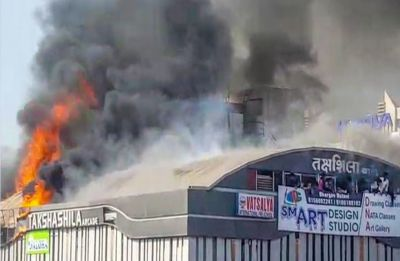 Surat fire tragedy: Preliminary probe finds lapses on part of civic body, builder