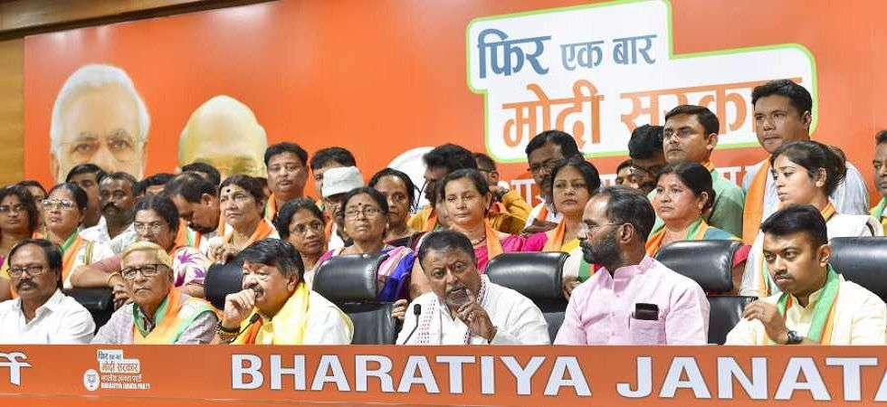 Various leaders from West Bengal mainly belonging to the TMC joined the BJP in the run up to the Lok Sabha polls. (PTI photo)