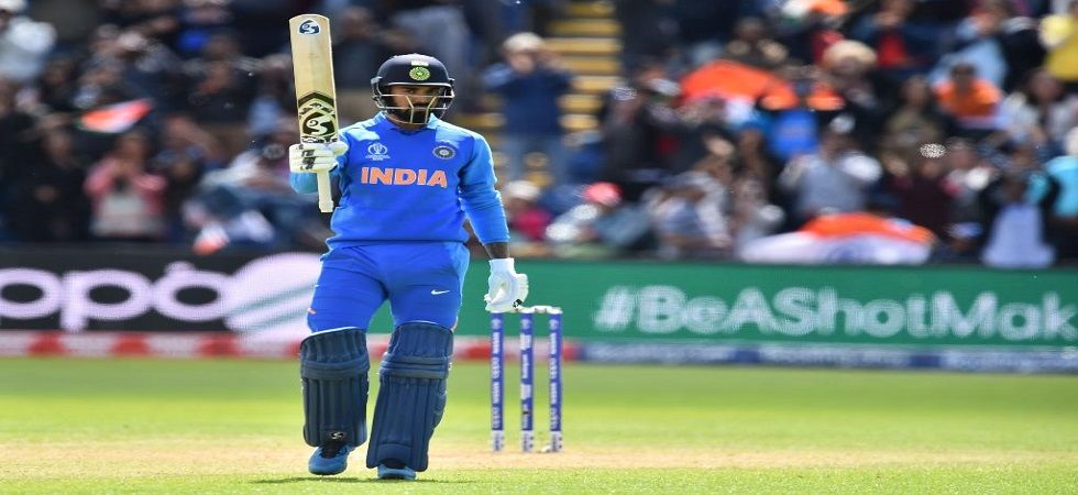 KL Rahul hammered a century as India defeated Bangladesh by 95 runs to build momentum for the ICC Cricket World Cup 2019. (Image credit: Cricket World Cup Twitter)