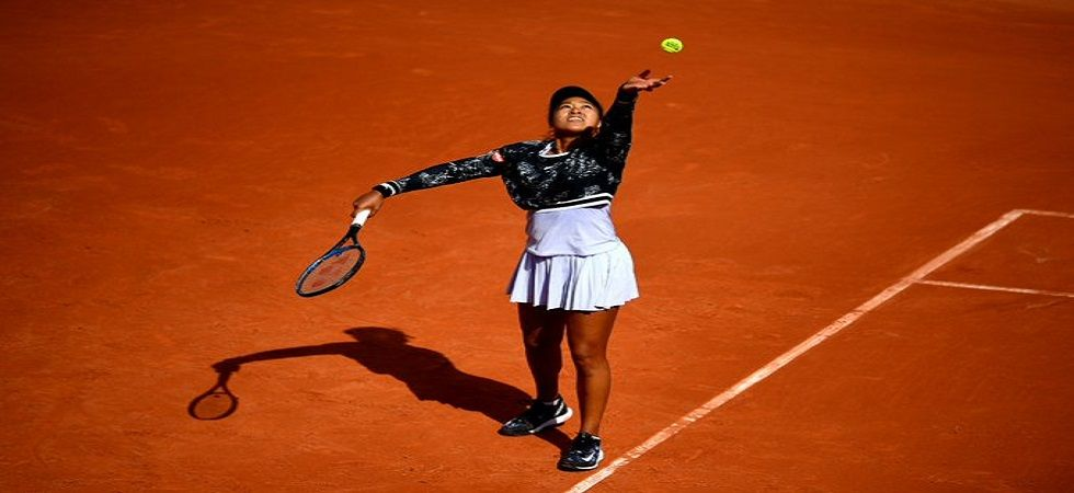 Naomi Osaka bounced back after losing the first set 0-6 but progressed to the next round. (Image credit: Twitter)