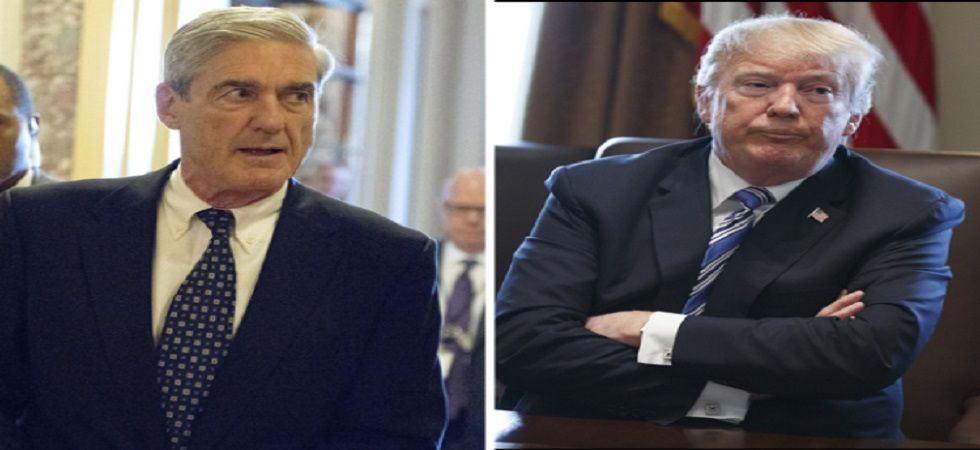 Special Counsel Robert Mueller and US President Donald Trump