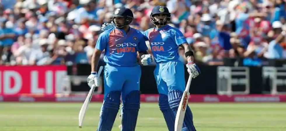 Rohit Sharma and Shikhar Dhawan endured a torrid time in the warm-up games before the ICC Cricket World Cup 2019. (Image credit: Twitter)