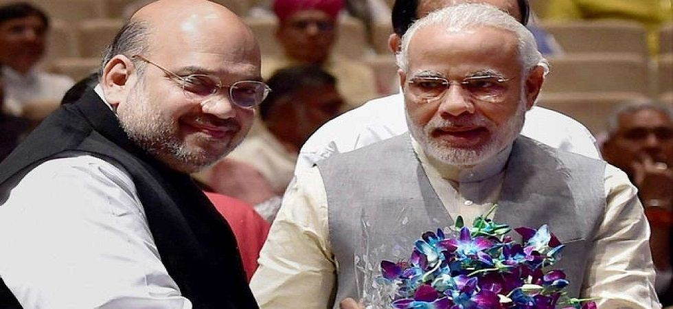 Prime Minister Narendra Modi on Wednesday held a marathon meeting with BJP president Amit Shah. (PTI/File)