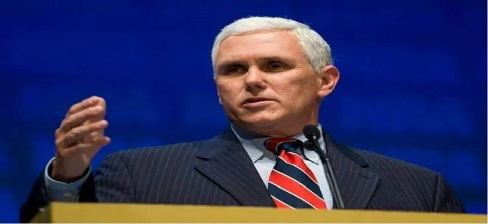 Pence's remarks follow moves by legislatures in several Republican-led states to restrict access to abortion in a bid to eventually challenge the 1973 US Supreme Court ruling in Roe vs Wade, which made abortion legal nationwide. (File photo)
