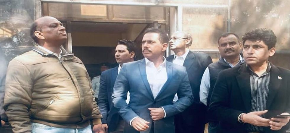 Robert Vadra has denied the allegations of possessing illegal foreign assets and termed them a political witch hunt against him. (File photo)