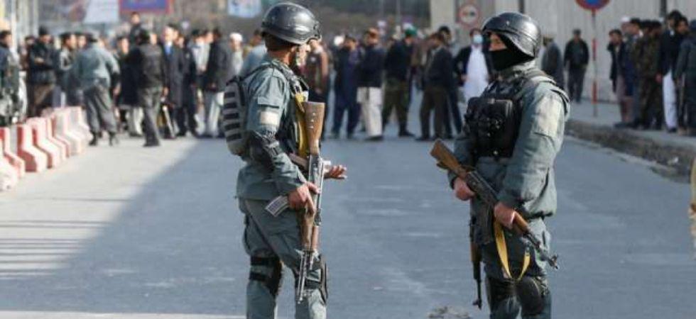 Kabul military academy suicide bomb blast (Photo Credit: Twitter)