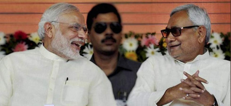 Prime Minister Narendra Modi and Bihar Chief Minister Nitish Kumar