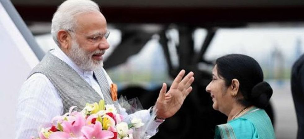 PM Modi and Sushma Swaraj