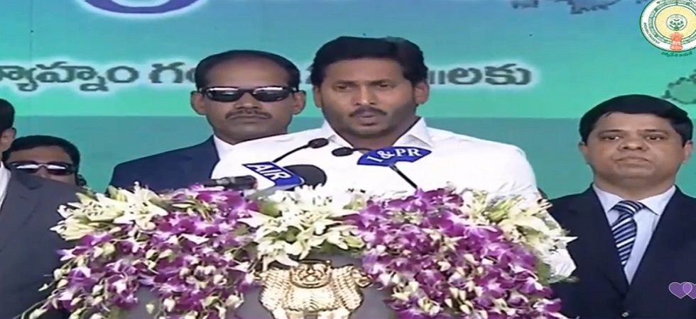 Jagan Mohan Reddy takes oath as chief minister of Andhra