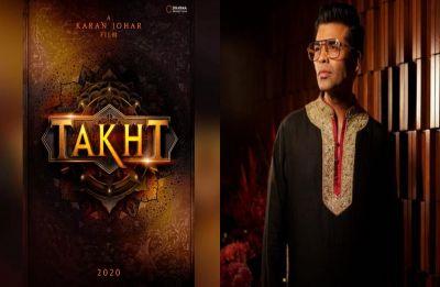 Karan Johar proves Takht is not shelved, accidentally reveals release date!