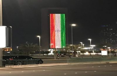 UAE government marks Modi's swearing-in ceremony by lighting up iconic ADNOC building