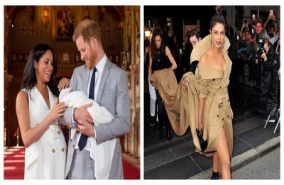 Priyanka Chopra puts a stop to fallout rumours with Meghan Markle, visits Baby Archie with gifts from Tiffany