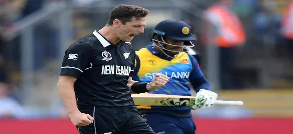 Matt Henry took three wickets and backed by fifties from Martin Guptill and Colin Munro helped New Zealand to a comprehensive 10-wicket win against Sri Lanka. (Image credit: ICC Twitter)