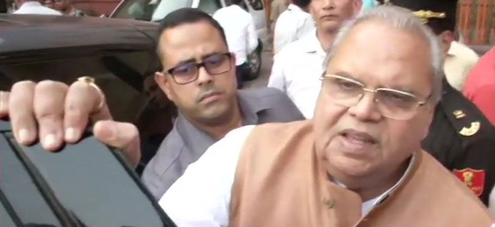 Governor Satya Pal Malik discussed security matters and development issues with Home Minister Amit Shah