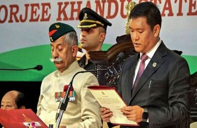 Days after swearing-in, Arunachal CM allocates portfolios to council of ministers