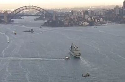 Chinese warships steam into Sydney Harbour, 'what's real story,' asks expert