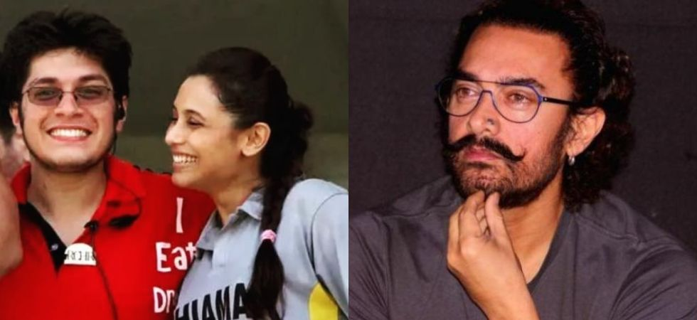 Aamir Khan shares throwback picture featuring son Junaid and Rani Mukherji.