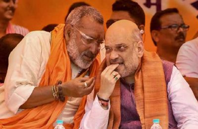 'Avoid making statements': Amit Shah pulls up Giriraj Singh for tweet on Nitish Kumar attending 'Iftar'