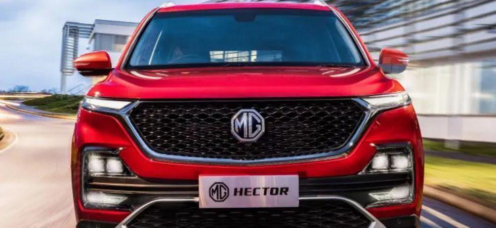 MG Hector SUV (File Photo)