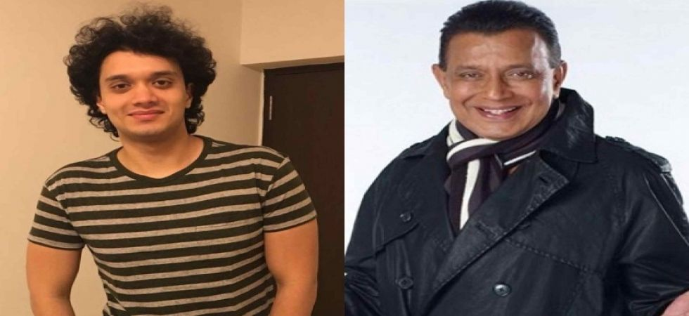 Mithun Chakraborty surprises son Namashi on the sets of his debut film 'Badboy'